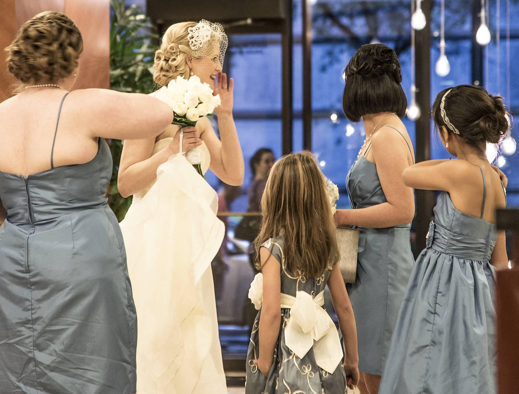 54 Far Fading West, Wedding in White, 2014