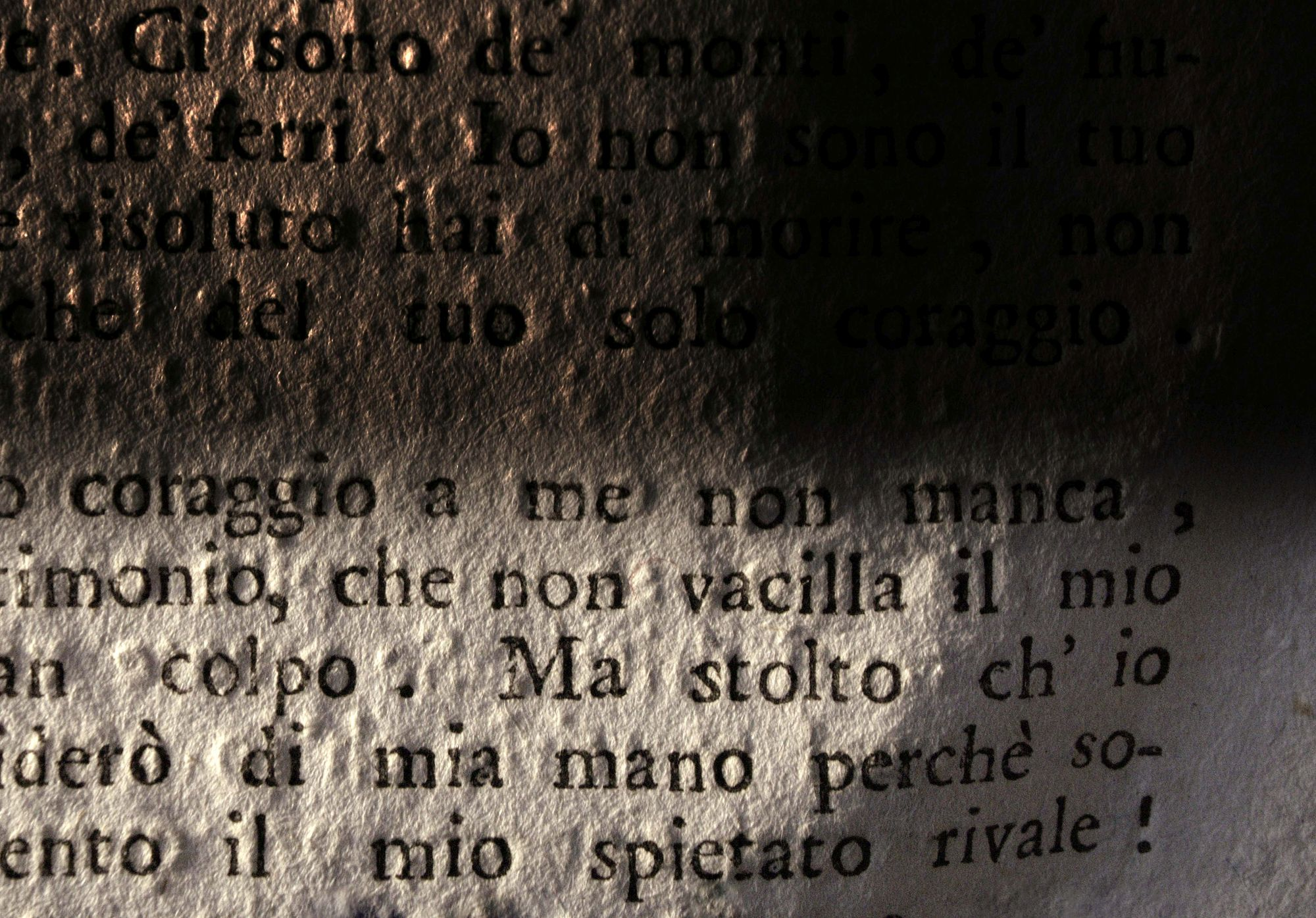 Words #30, Coraggio/Courage, 2013
